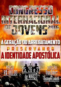 CONGRESSO INTERNACIONAL DE JOVENS 2016