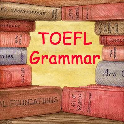 TOEFL Grammar Practice