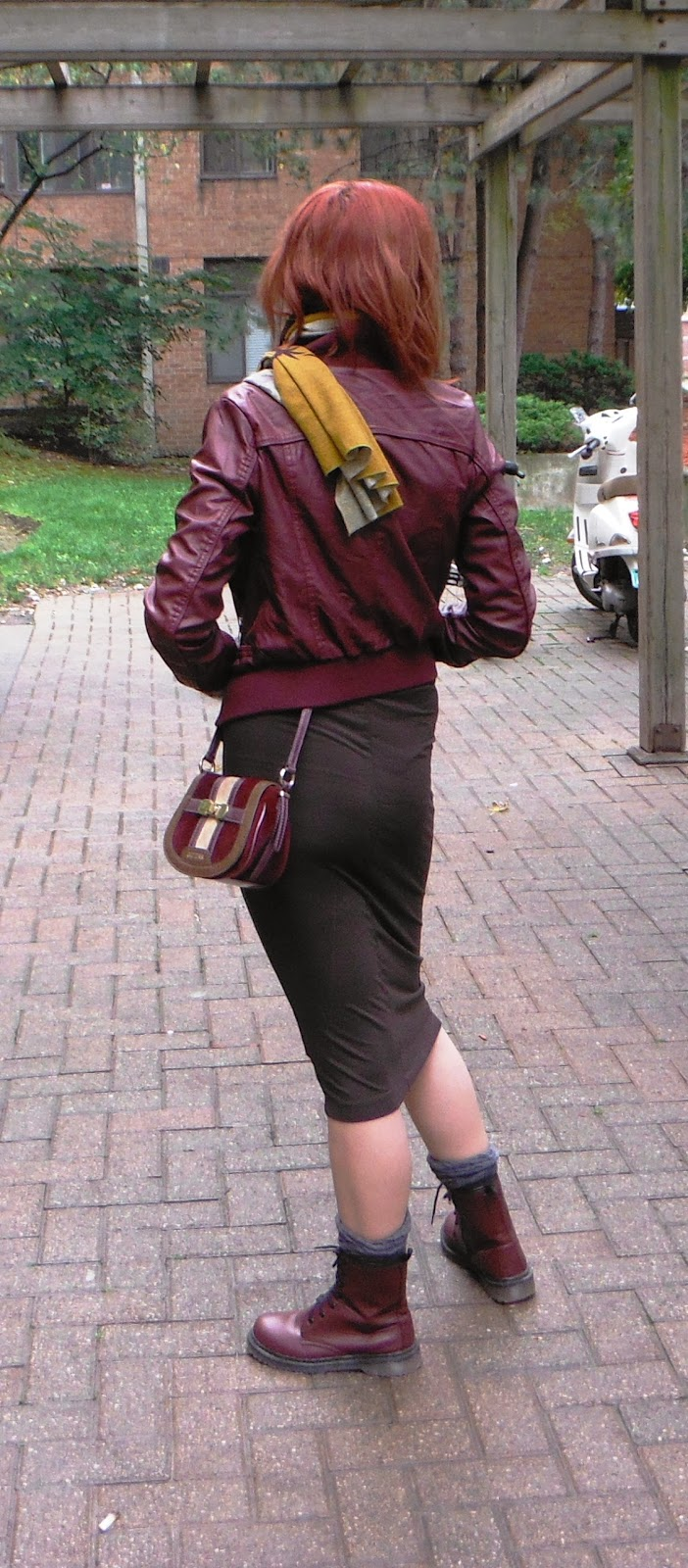Leather jacket urban planet