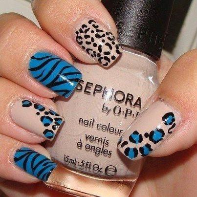 Lush fab glam blogazine style me pretty fun leopard print nail which leopard nail art design will you try leave a comment below prinsesfo Choice Image