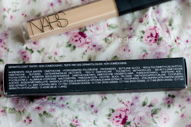 nars radiant creamy concealer ingredients