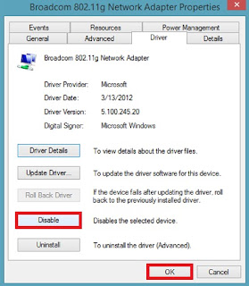 Memperbaiki Error Limited WiFi Connectivity Windows 8.1