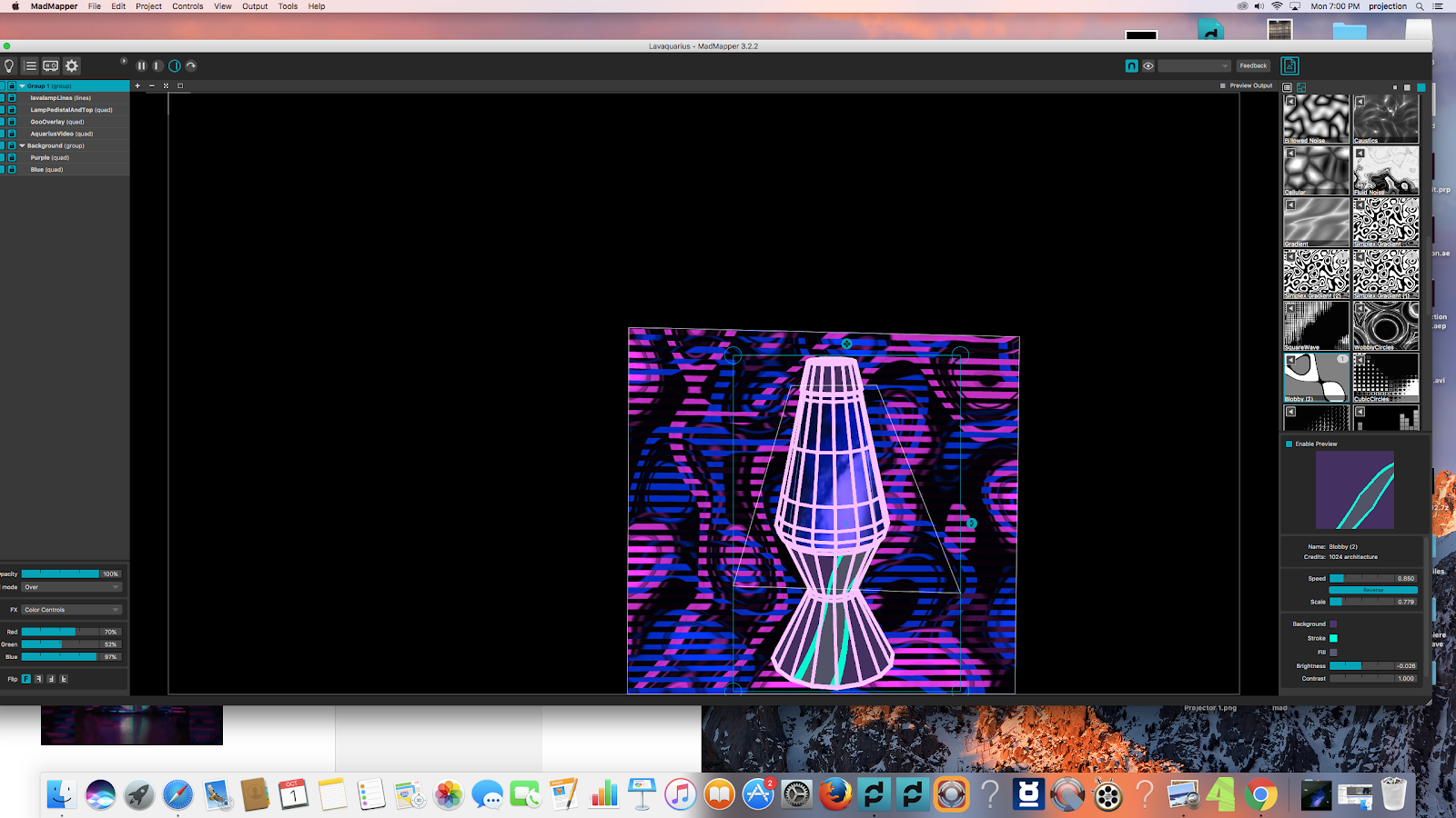 projection mapping project 2