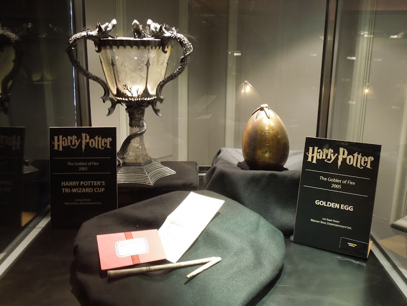 Original Harry Potter movie props