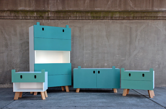 Kids Furniture Collection by Oscar Nuñez - Inspiring Modern Home