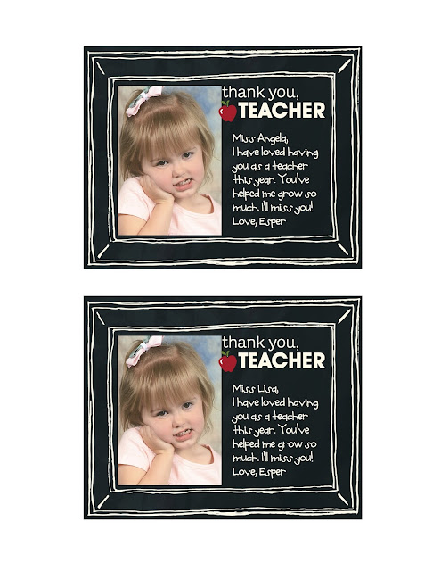 Teacher Thank You Cards, MDS Blog Hop