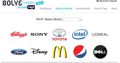 Brand Tags crowd sourcing what people think of brands