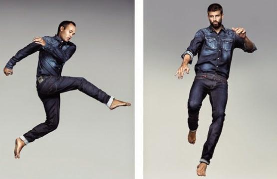colección ropa casual FC Barcelona Replay Hyperflex jeans jugadores Barça