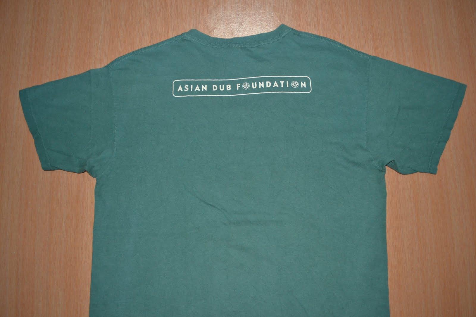 asian dub foundation t shirt
