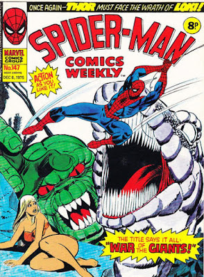 Spider-Man Comics Weekly #147, Gog