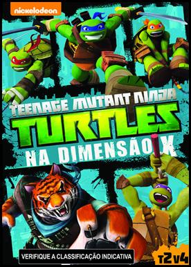 As Tartarugas Ninjas na Dimensão X – Dublado