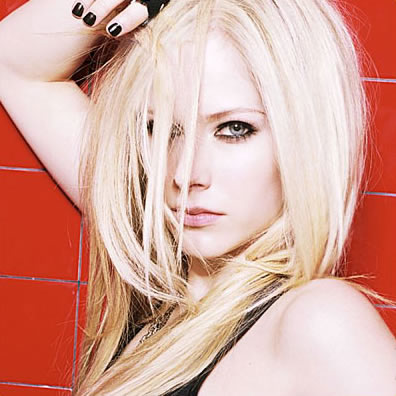avril lavigne hair 2011