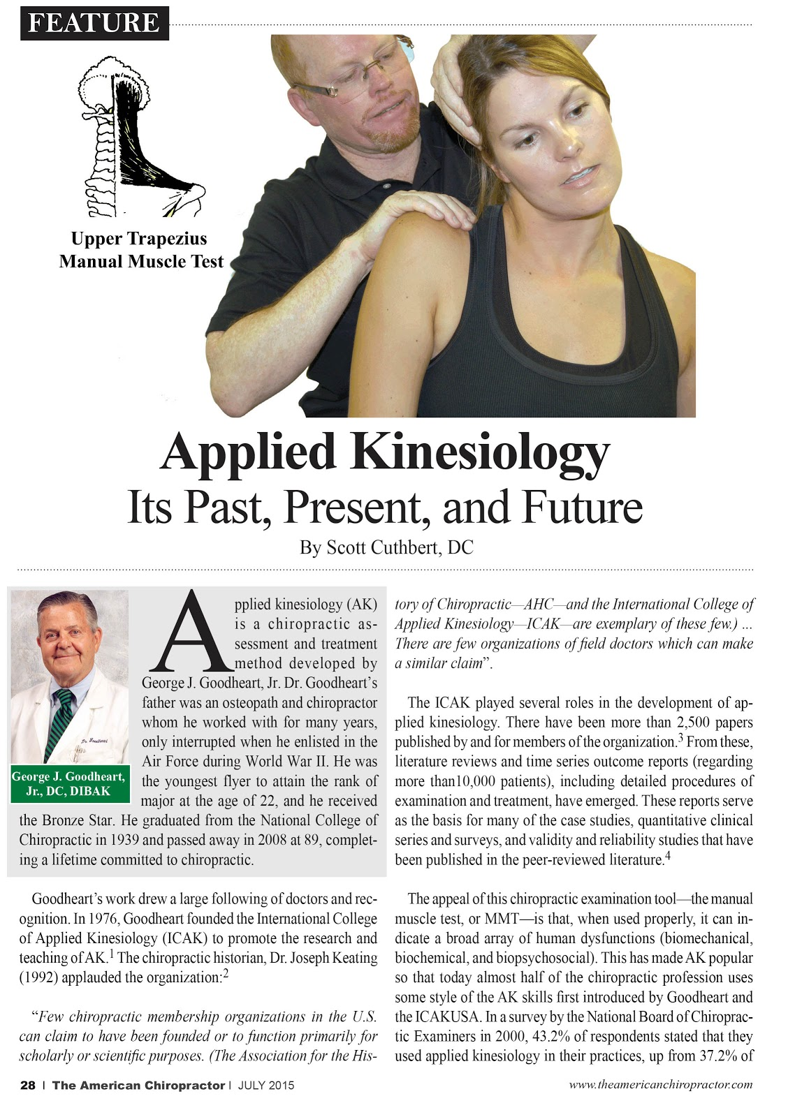 applied kinesiology Our mission at applied kinesiology, we help you reach your highest possible level of health and happiness we assist anyone in finding and maintaining higher and.