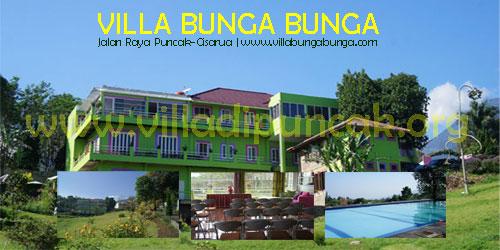 <b>villa Bunga Bunga Puncak</b>