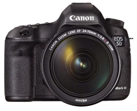 Harga dan Spesifikasi Kamera DSLR Canon EOS 5D Mark III - 22.3MP