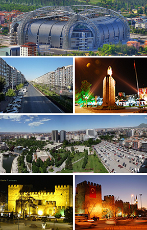 Kayseri City,Turkey