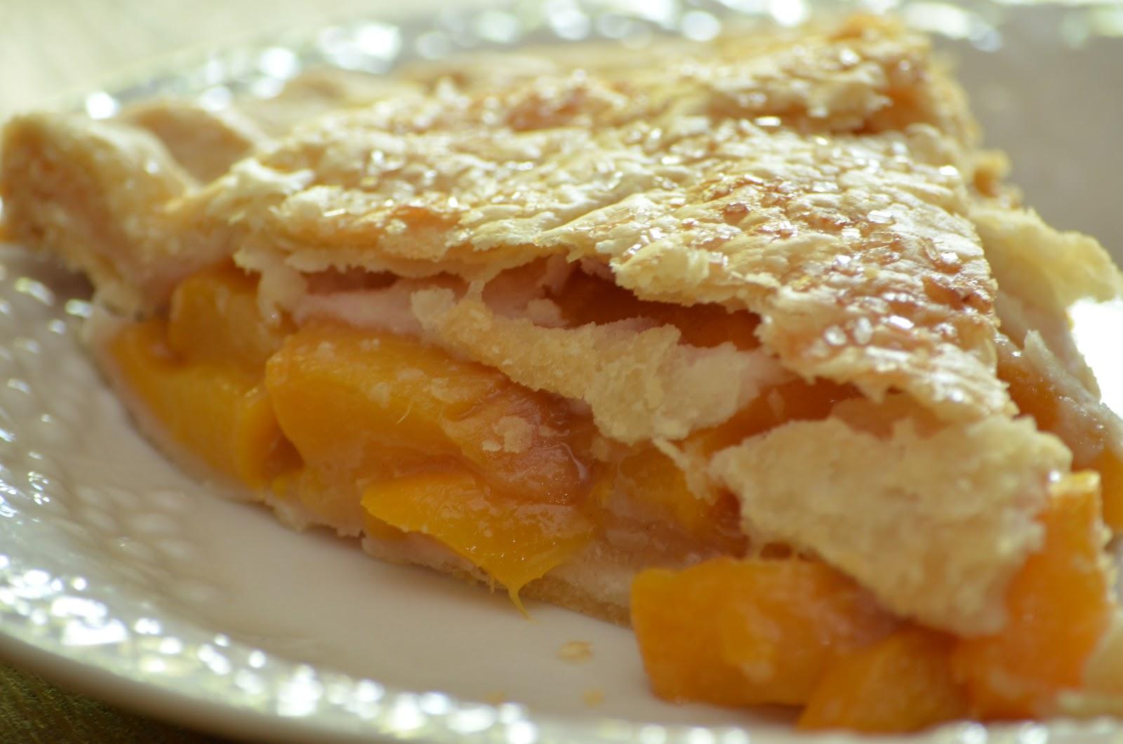 Peach Pie Recipe — Dishmaps