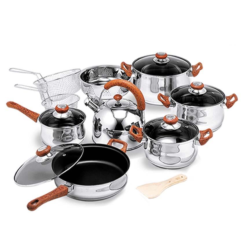 OX-988FSN Panci Oxone Jumbo Cookware Set (12+7Pcs)