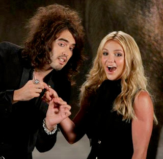Russell Brand y Britney Spears