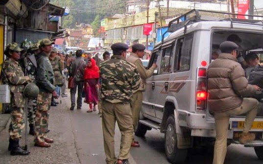 central paramilitary forces in darjeeling