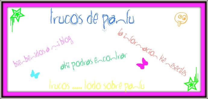 ♥trucos de panfu♥