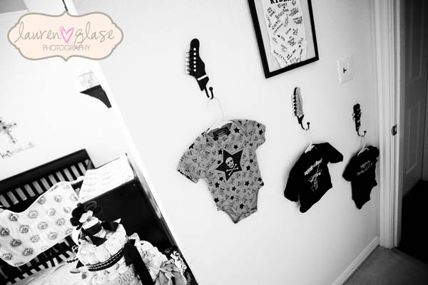 Nursery rock star life baby baby showers parties for Rock n roll baby crib set