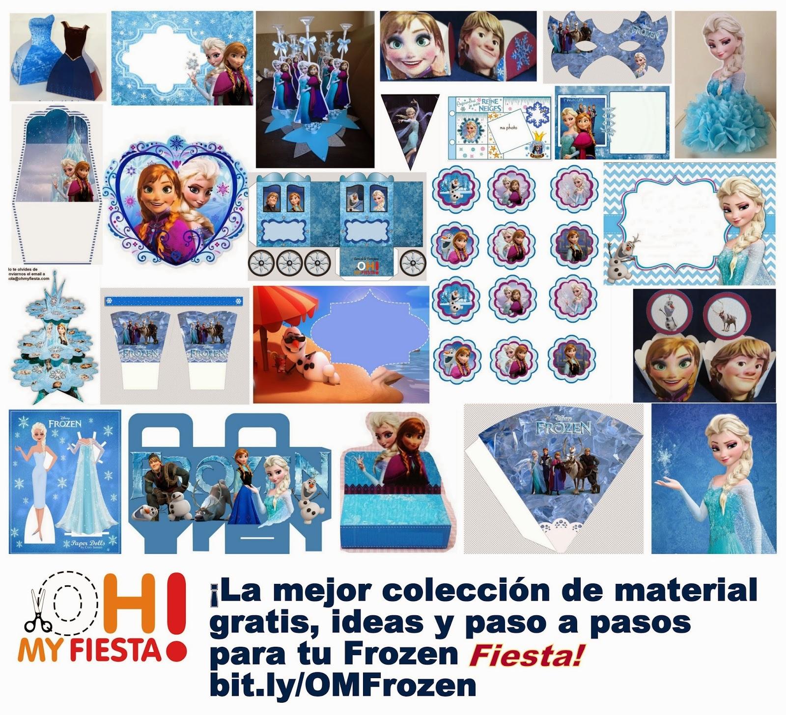 Un Hogar para mis Cositas: Cumpleaños: Recursos Frozen y más personajes