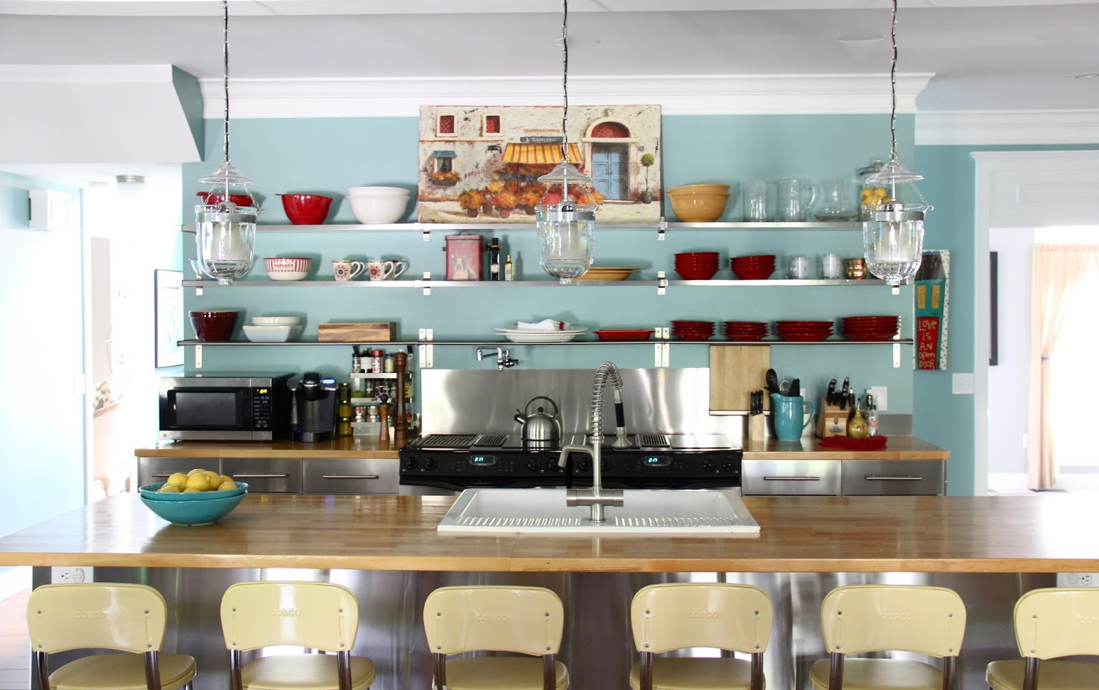 The Yellow Cape Cod: Dramatic Kitchen Makeover Reveal~Before and After