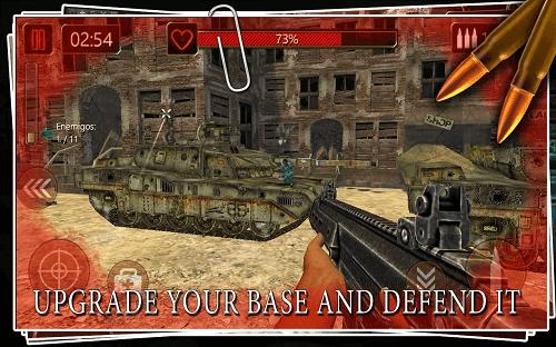 Battlefield Combat: Duty Call v2.1.1 Mod Apk (Mega Mod)