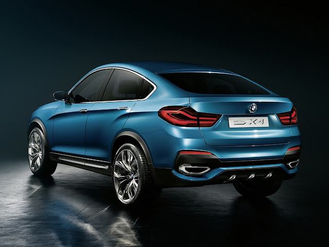 Leaked Photos of the BMW X4 Concept