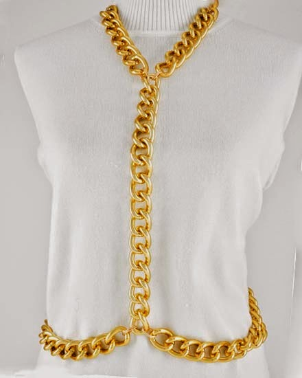 gold cheap body chains