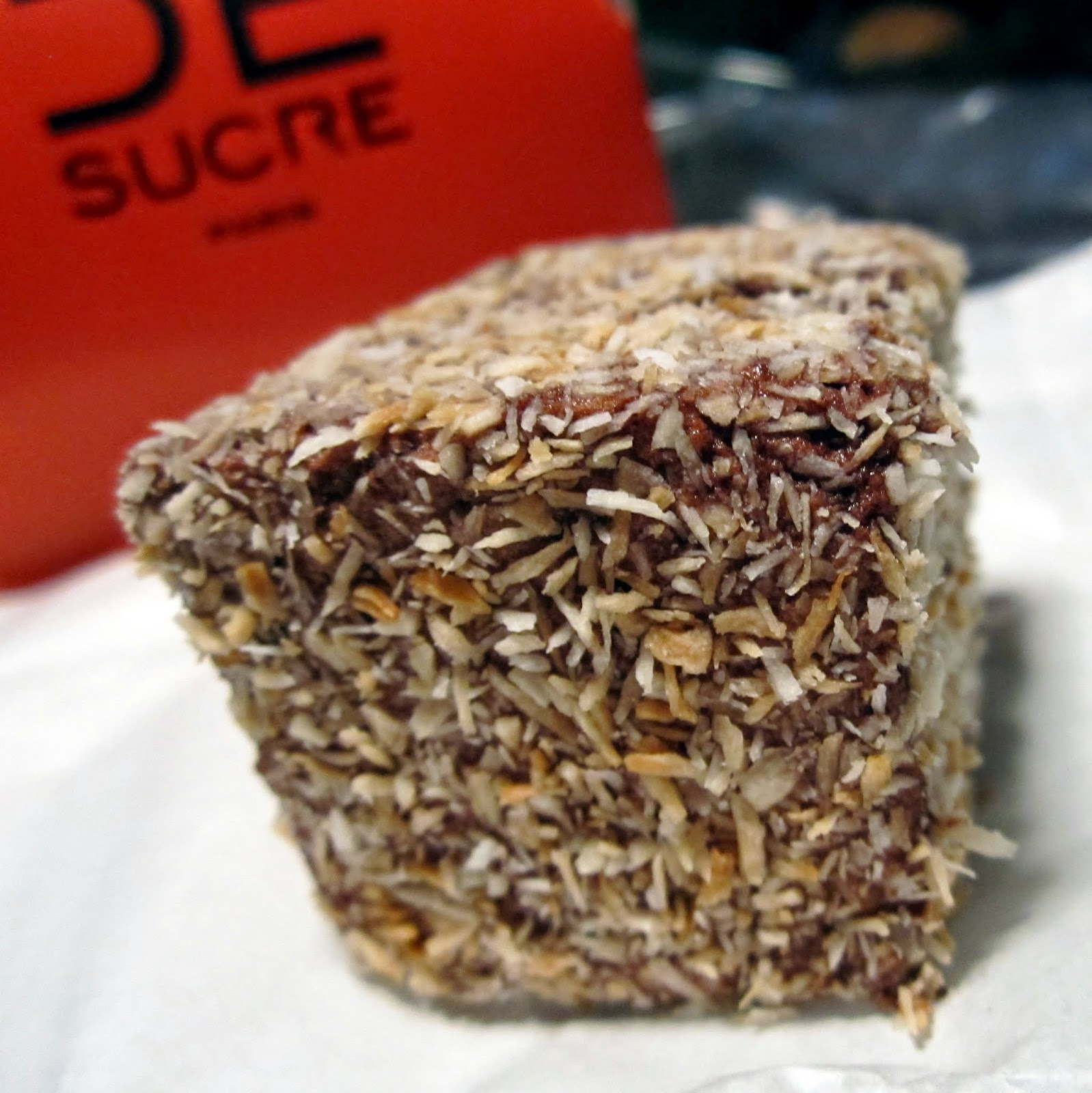 Handmade marshmallow Coconut Chocolate Pain de Sucre Paris