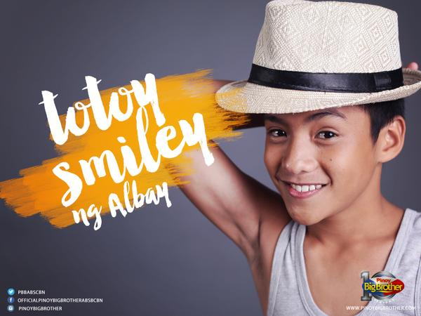 """Totoy Smiley ng Albay"" - Thomas Franco Rodriguez"
