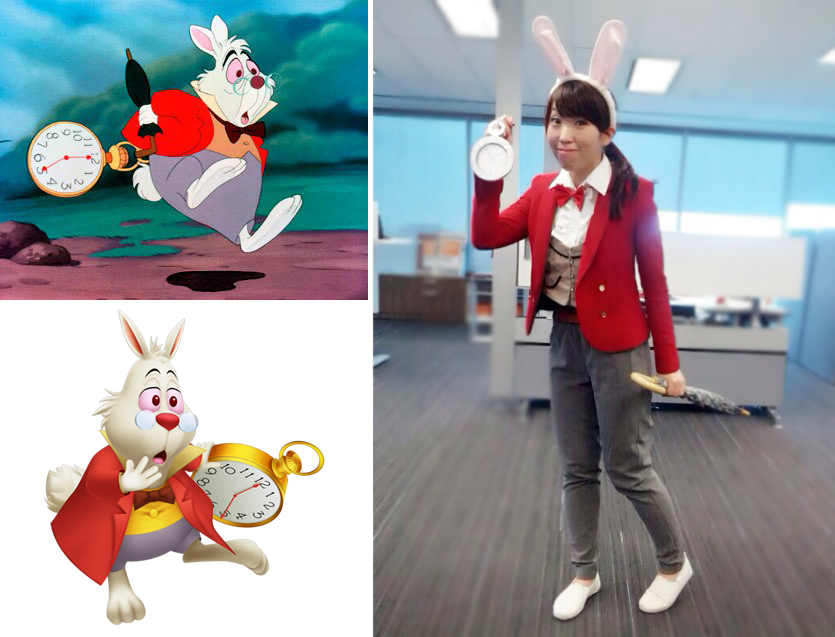 Alice In Wonderland White Rabbit Costume Diy Im Late last Minute