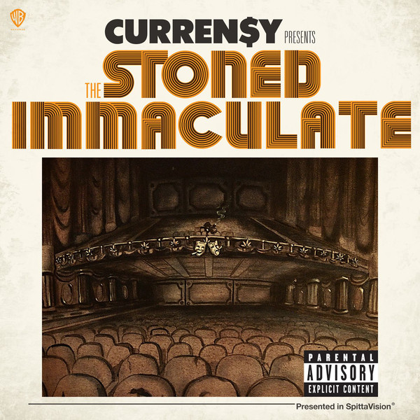 Curren$y - The Stoned Immaculate (Deluxe Version)  Cover