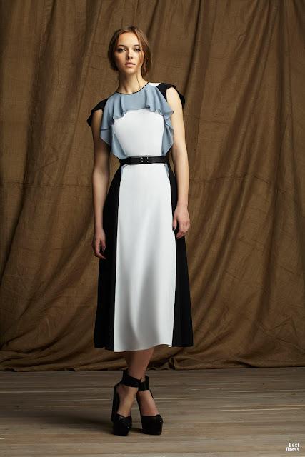 Atractivos vestidos de moda