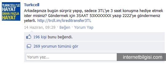 Turkcell Facebook