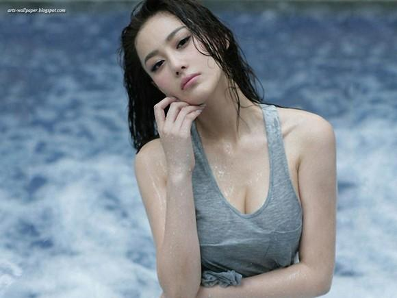Girls Beauty Wallpaper Zhang Xinyu 21