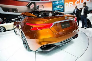 Nissan Sport Sedan Concept rearview