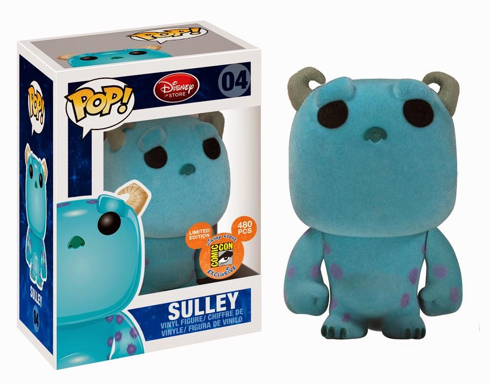 Funko Pop! Sulley Flocked