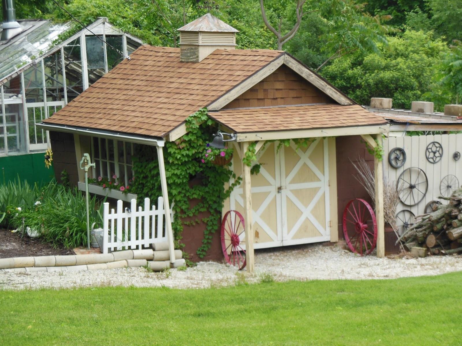 Rustynailgarden Cute Little Garden Sheds