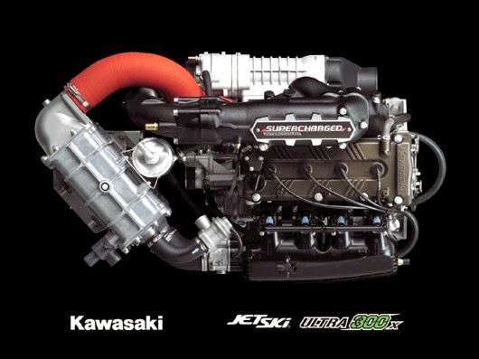 Kawasaki Ultra X Weight