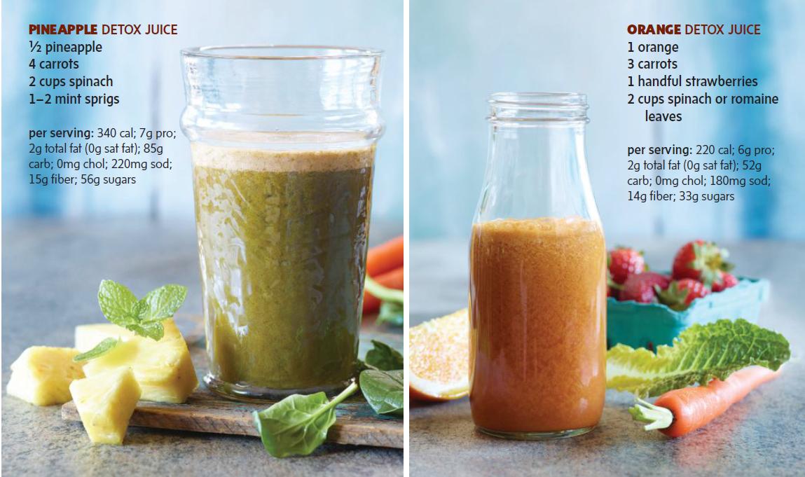 Fit Exercise Pineapple Amp Orange Detox Juice