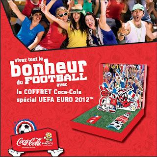 Coffret Coca-Cola spécial UEFA EURO 2012