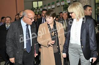 وزيرة التربية الوطنية في زيارة  إلى ولاية برج بوعريريج