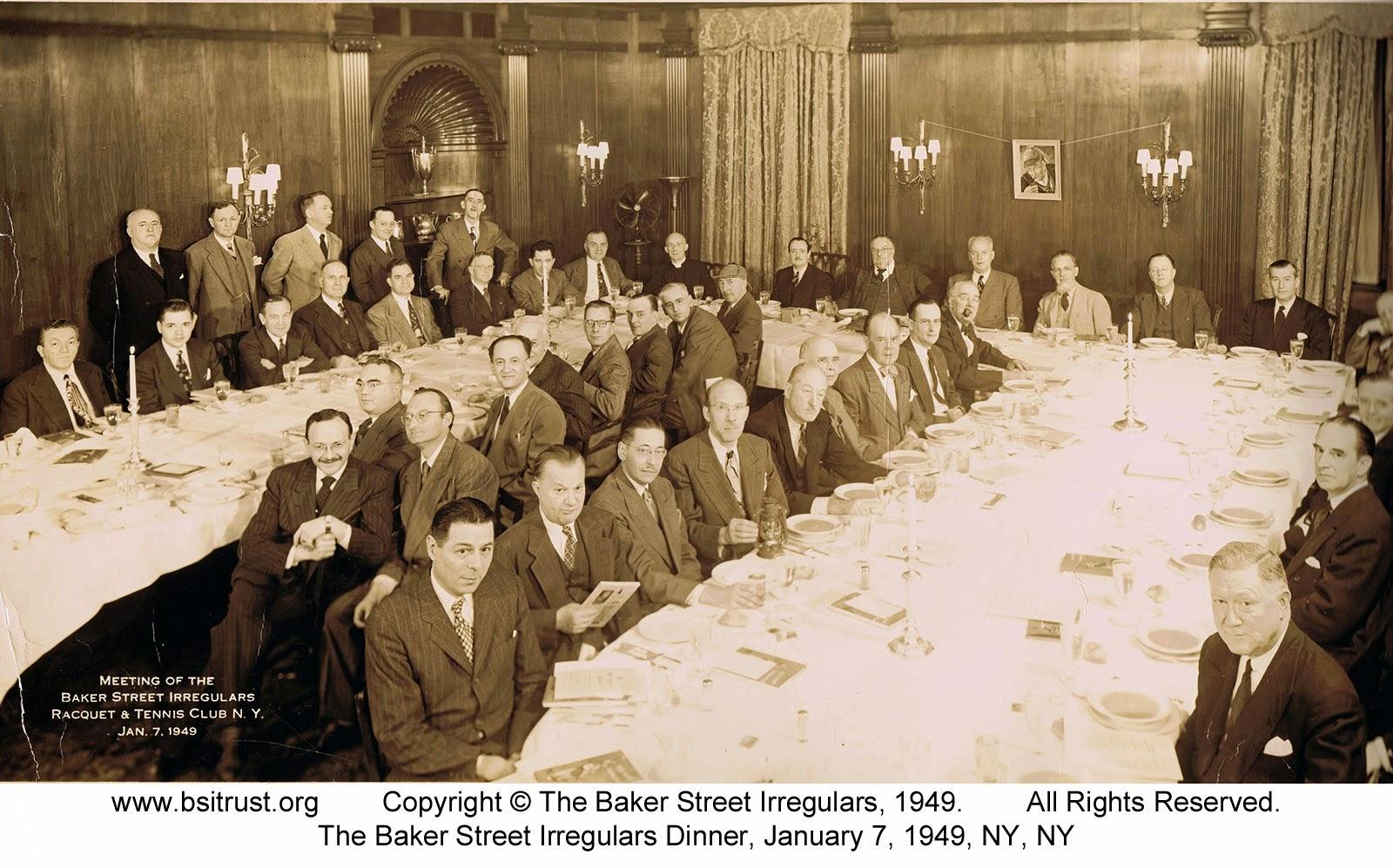 The 1949 BSI Dinner group photo