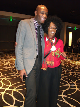 Jonathan Bias, Host and Pam Armstead, Comedienne