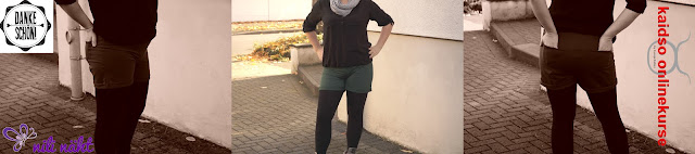 Probenähen für Kaidso - Hot Pants - Straight Leg - Bootcut - Dankeschön
