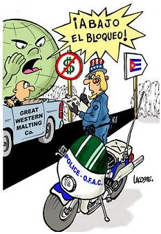 Informe de Cuba sobre la necesidad de poner fin al bloqueo