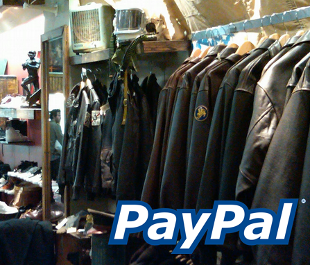 belanja toko online dengan paypal